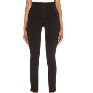 J BRAND NATASHA SKY HIGH WAIST SKINNY LEGGINGS 26